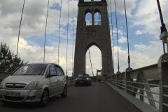 286 - Auf den Brücken ist oft nicht viel Platz