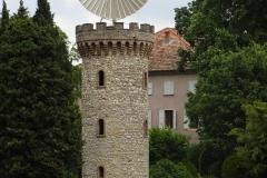 287 - Ein Turm wie geschaffen für Rapunzel - wenn nur das hässliche Ding oben drauf nicht wäre