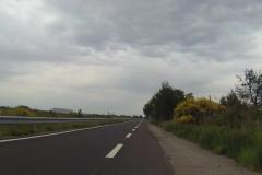 376 - Auf Grund vom Wochenende war zum Glück kein Verkehr hier unterwegs