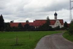 Hier dann das Kloster St. Benedikt in Benediktbeuren