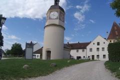 Der Wasserturm der Burg