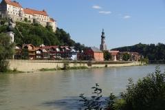 Noch ein letzter Blick zurück, bevor es Richtung Salzburg ging