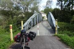 Früher eine Brücke für den Autoverkehr, heute für Radler reserviert