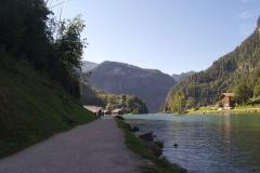 """Der """"offizielle"""" Start am Königssee"""