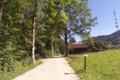 Richtung Berchtesgaden ging es auf geschotterten Wegen