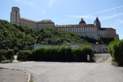 Kloster Melk in seiner ganzen Größe