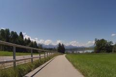 Schon am Bannwaldsee, kurz vor Füssen