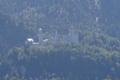 Der erste Blick auf Schloss Neuschwanstein