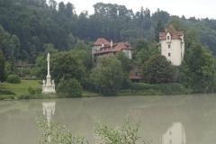 Blick nach Wernstein