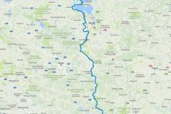 Route 2017 - Oder-Neiße-Kanal bis Rostock