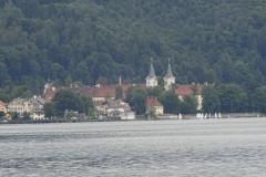 Blick über den See ...