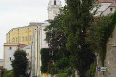 Der Passauer Dom - noch versteckt