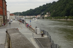 Nochmal der Blick die Donau hinauf