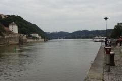 Und der Blick die Donau hinunter