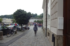 Ein Betrieb wie auf der Karlsbrücke in Prag :-)