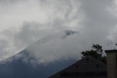 Die Wolken waren immer noch greifbar - aber es war noch trocken