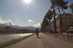 Die Ausfahrt aus Salzburg