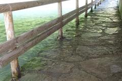 10 cm mehr Wasser und die Unterführung wäre nicht mehr passierbar gewesen