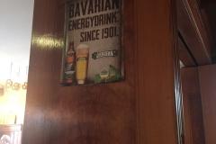 Dafür liebe ich die Bayern - hing beim Abendessen im Lokal