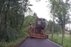 Bauarbeiten blockieren den Radweg
