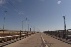 Endlich die Brücke über die Donau