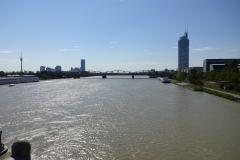 Blick zurück auf Wien