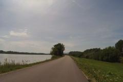 Schwäne gibt es zuhauf entlang des Flusses
