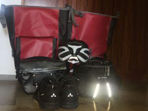 Alles für die Reise gepackt