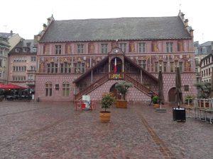 Das Rathaus von Mulhouse
