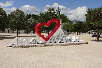 Valence - auf dem Weg nach Montélimar