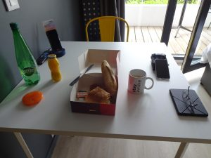 Frühstück nach Staycity-Art