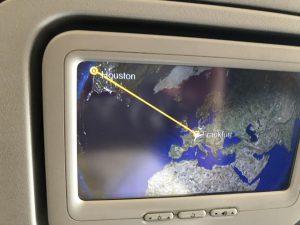 Anreise nach Houston