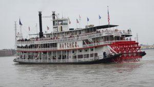 Die Nachez - der Mississippi-Dampfer von New Orleans