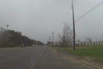 Regen dominiert auf der Etappe nach Bay Saint Louis