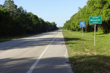 Der Tag im Zeichen der Manatees - klar wenn man im Manatee County unterwegs ist