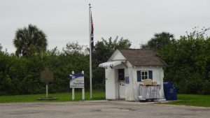 Hier draußen in den Everglades weitab von jedem Ort gibt es das kleinste Postamt der USA