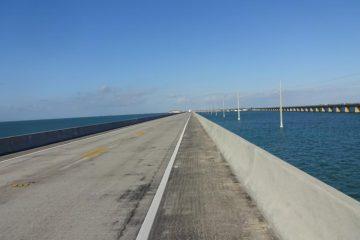 Auf der Seven Mile Bridge