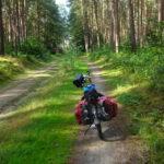 Radweg hinter Fürstenberg